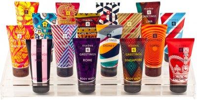 Гель для душа Mades Cosmetics Men для мужчин Восстанавливающий энергию с активированным бамбуковым углем 150 мл (8714462092115)
