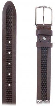 Мужской ремень кожаный Sergio Torri 3-0033 115-125 см Коричневый (2000000008295)