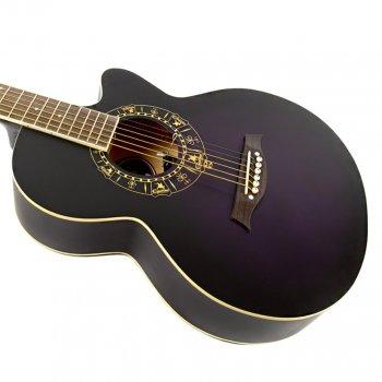 Акустическая гитара Equites AEQ600C 38 Violet