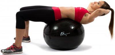 Гімнастичний м'яч ProSource Stability Exercise Ball 75 см Чорний (PS-2207-sfb-75)