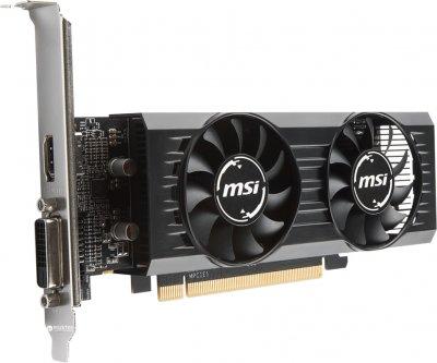 MSI PCI-Ex Radeon RX 550 2GT LP OC 2GB GDDR5 (128bit) (1203/6000) (DVI, HDMI) (RX 550 2GT LP OC)