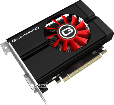 Gainward PCI-Ex GeForce GTX 1050 Ti 4GB GDDR5 (128bit) (1290/7000) (DVI, HDMI, DisplayPort) (426018336-3828)