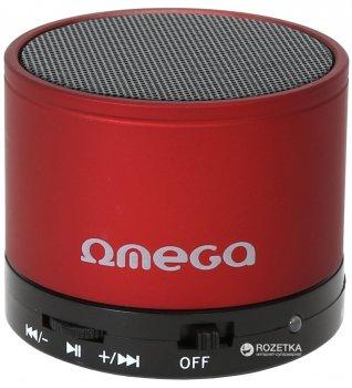 Акустична система Omega Bluetooth OG47R Red