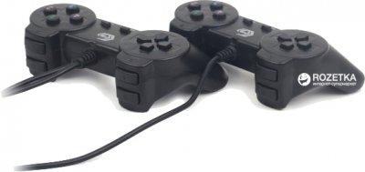 Проводной геймпад Gembird JPD-UB2-01 PC 2 шт Black