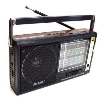 Радиоприемники с USB+SD AT-819 акустическая система