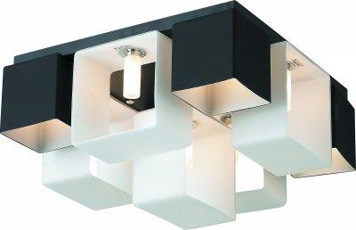 Стельовий світильник Altalusse INL-9074C-9 White & Black G9 9х40Вт