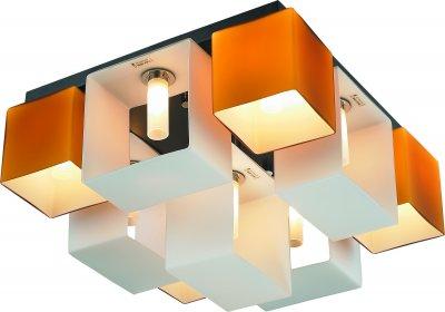 Стельовий світильник Altalusse INL-9074C-9 Amber & White G9 9х40Вт