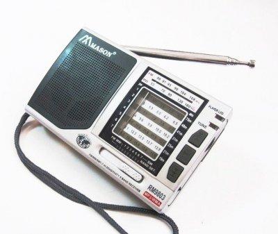 Радиоприемники MASON 9803 акустический портативный беспроводной