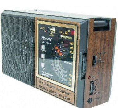 Радиоприемник аккустический портативный колонка RX 132