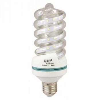 Лампочка LED LAMP E27 7W 4023 Спиральная UKC