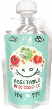 Овощное органическое пюре OVKO Микс с 6 месяцев 90 г (8586019160291)