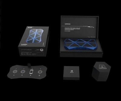 Портативна акустика EMIE Lambo bluetooth speaker Blue MF_48500