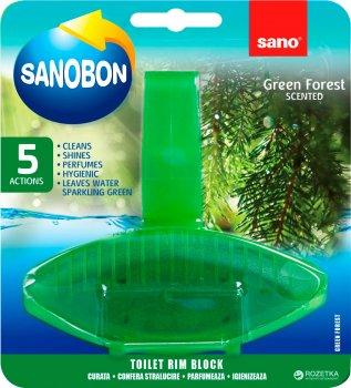 Туалетний блок Sano зелений ліс 55 г (7290102990030)