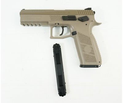 Пістолет пневматичний ASG CZ P-09 Pellet FDE Blowback. 23702878