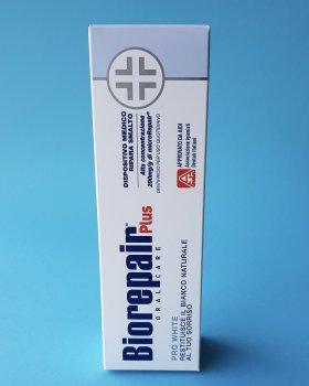 Зубная паста BioRepair Plus Pro White 75 мл (8017331055380)