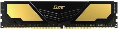 Оперативная память Team Elite Plus DDR4-2400 8192MB PC4-19200 Black (TPD48G2400HC1601)