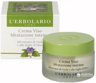Крем для лица Lerbolario Интенсивное увлажнение 50 мл (2214010009573)
