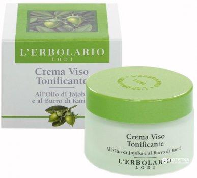 Тонизирующий крем для лица Lerbolario с маслом ШИ 50 мл (8022328500170)