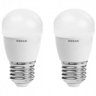 Лампа LED Osram Star 4 Вт E27 холодний світ 2 шт