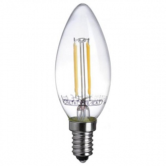 Лампа филаментная LED Светкомплект FLC35 Е14 4 Вт 3000K