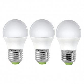 Лампа LED Светкомплект G45 E27 6W 4500K 3 шт