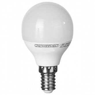 Лампа LED Светкомплект G45 E14 A 6 Вт 3000K 3 шт