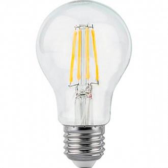 Лампа LED Гаусса Black Fil A60 6 Вт Е27 4100К