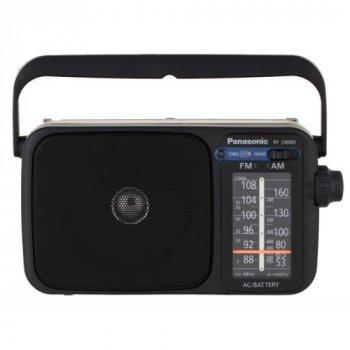 Портативний радіоприймач Panasonic RF-2400DEE-K