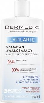 Шампунь Dermedic Capilarte проти лупи 300 мл (5901643174231)