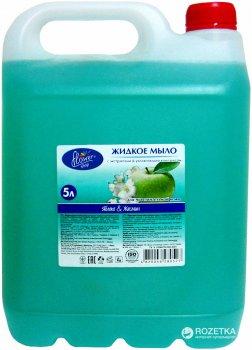 Жидкое мыло Flower Shop Яблоко и жасмин 5 л (4820046280527)