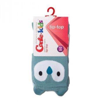 Колготки Conte Kids TIP-TOP Кошенята, 128-134 (20), Темно-сірий-малиновий (1001090110030728445)