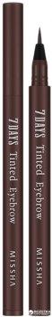 Олівець для брів Missha 7Days Tinted Eyebrow Maroon Brown З ефектом татуажу 8 г (8806185715874)
