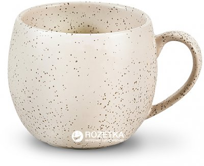 Чашка Fissman 320 мл Белый песок (SC-9344.320)