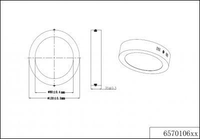 Стельовий світильник Trio Cento (657010607)
