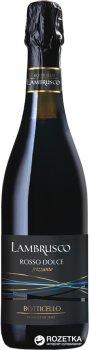 Вино игристое Botticello Lambrusco dell'Emilia Red Sweet красное сладкое 0.75 л 8% (8011510018241)