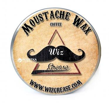 Віск для вусів WizGrease Medium Hold з ароматом кави 13 мл (13190)