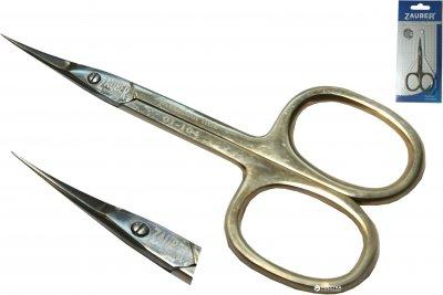 Ножницы маникюрные для кутикул Zauber-manicure Premium золотые 01-104p (4004904011045)