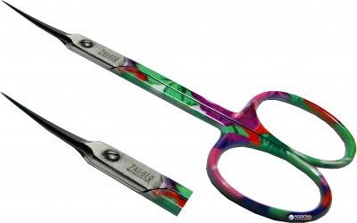 Ножницы маникюрные для кутикул прямые Zauber-manicure цветные 01-145 (4004904011458)