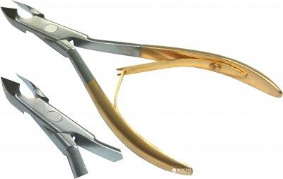 Кусачки манікюрні заусенців Zauber-manicure золоті 02-288G (4004904222885)