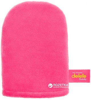 Рукавичка для снятия макияжа Glov Delete MakeUp Розовая (5902768711561)
