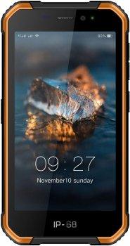 Мобільний телефон Ulefone Armor X6 2/16GB Black-Orange