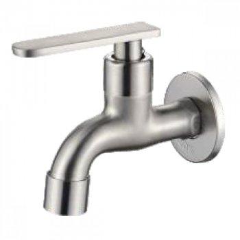 Смеситель ZERIX LR70101 Кран для холодной воды из нерж. стали SUS304 (35302)