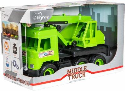 Кран Tigres Middle truck Зеленый (39483)