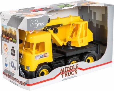 Кран Tigres Middle truck Желтый (39491)