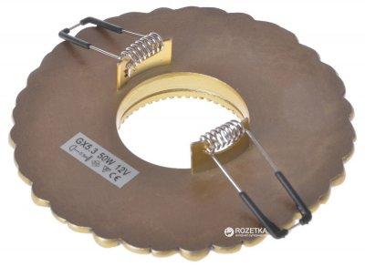 Світильник точковий Brille HDL-M33 GR Bronze (36-102)