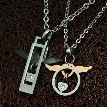 Парные колье YST для двоих Ангелы Хранители