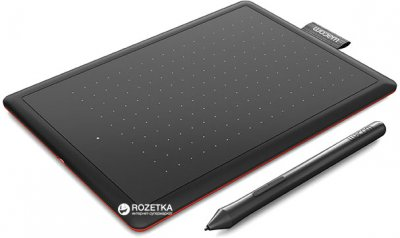 Графічний планшет Wacom One by Small Black (CTL-472-N)