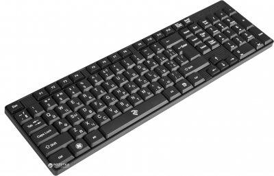 Клавіатура дротова 2E KS 106 USB (2E-KS106UB)