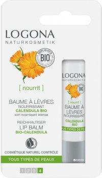 Питательный БИО-Бальзам для губ Logona 4.5 г (4017645039988)
