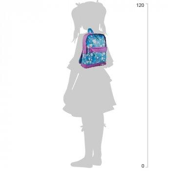 Рюкзак підлітковий Yes Weekend ST-15 Owl 35x27x13 см 13 л Фіолетовий з блакитним (553527)